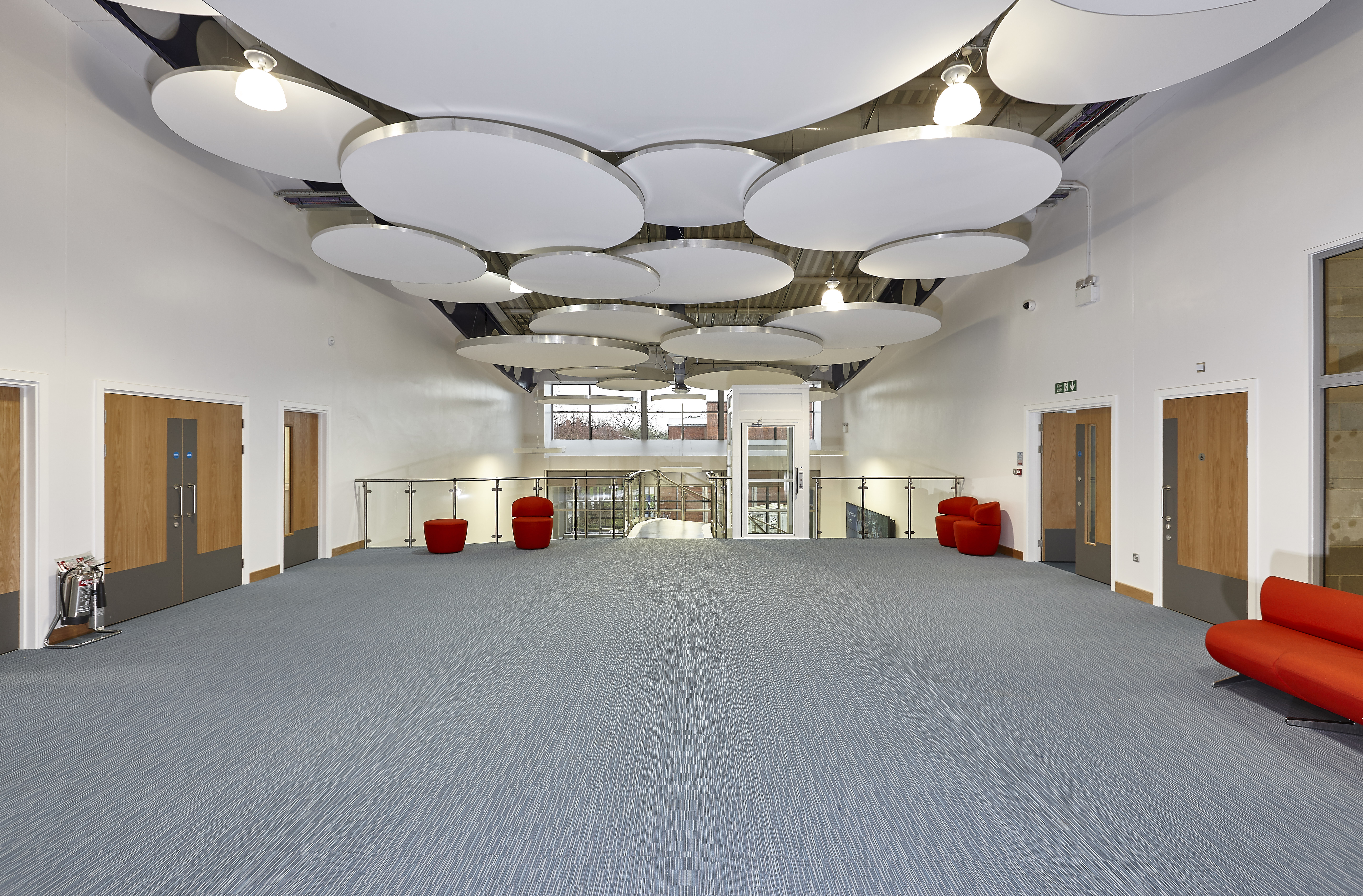 Clipso stretch ceilng and wall coverings