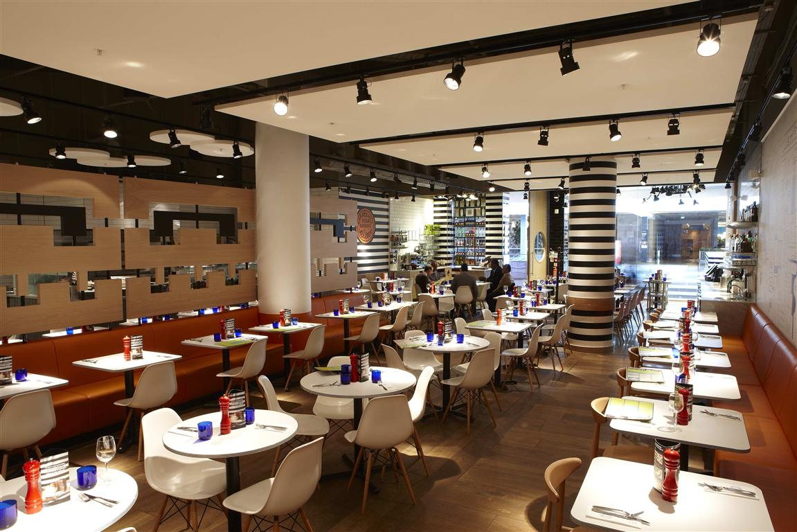 Acoustic solutions for noisy restaurants