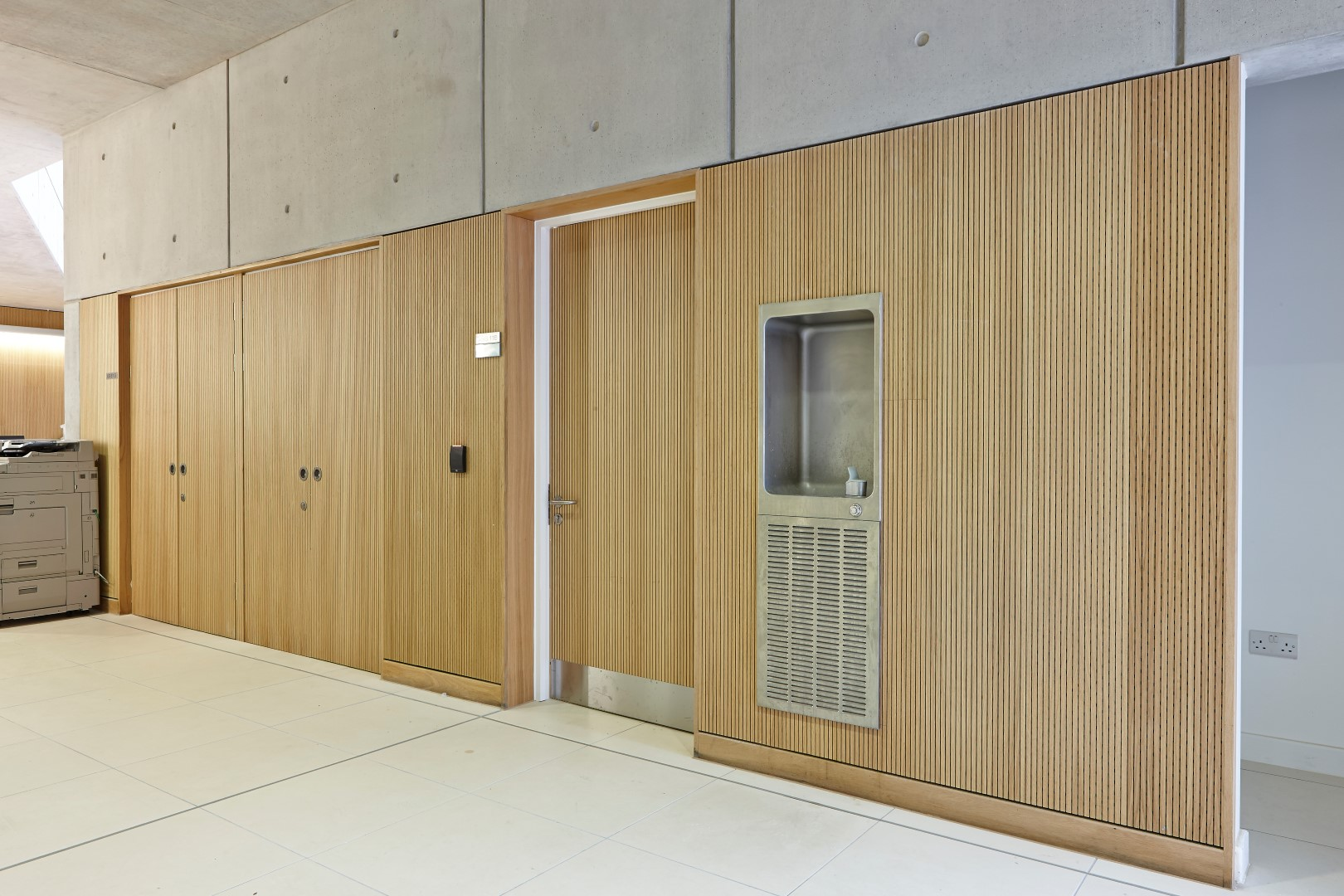 Acoustic timber panels