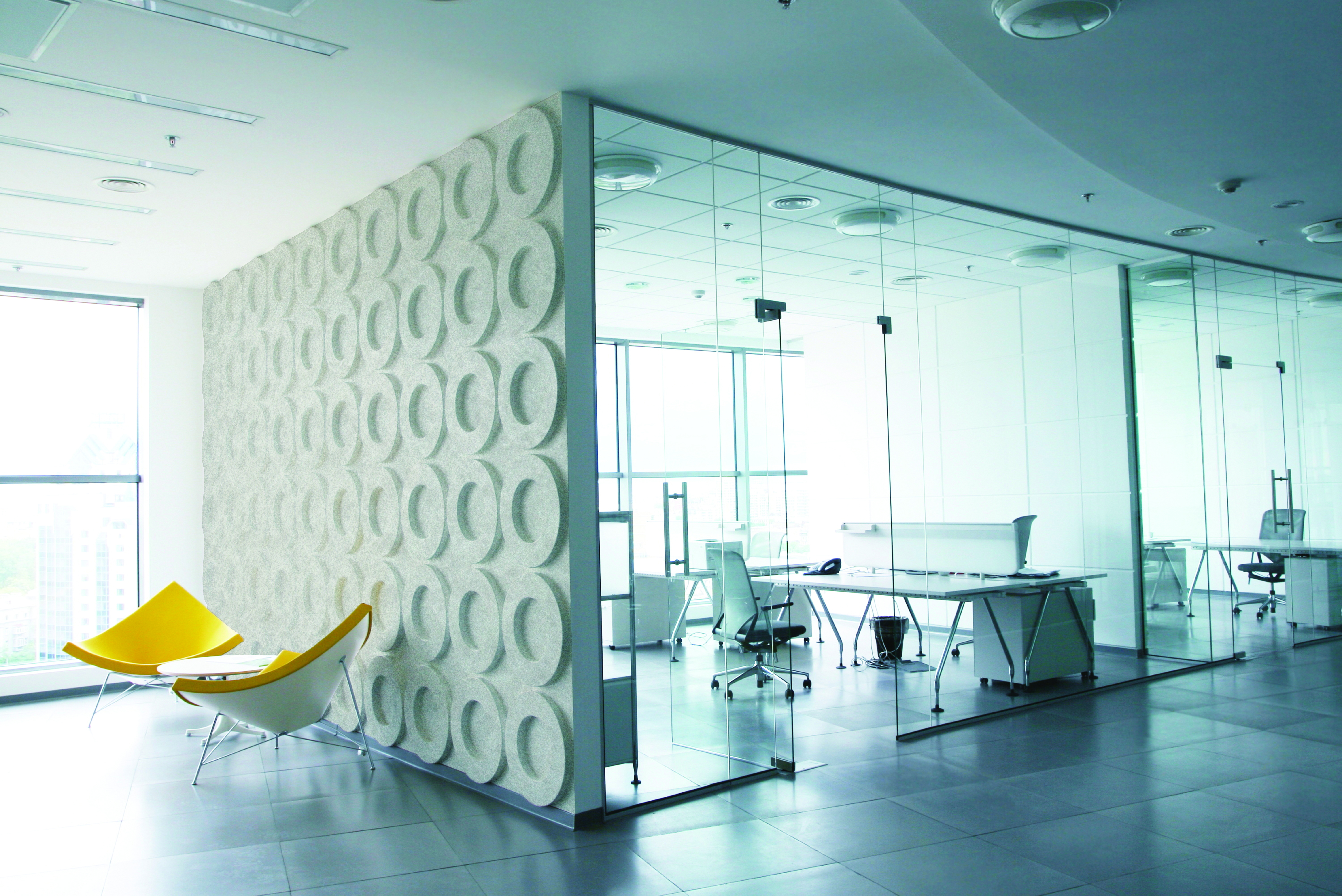Effective and aesthetically pleasing acoustic panels